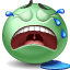 Crying SeaGreen icon