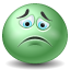 sad DarkSeaGreen icon
