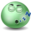 Sleeping DarkSeaGreen icon