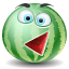 Melonwater, watermelon DarkSeaGreen icon