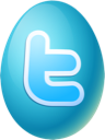 easter, twitter, egg LightSeaGreen icon