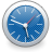 Clock SteelBlue icon