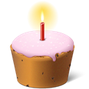 cake, easter, birthday Black icon