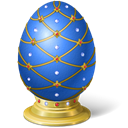 easter, egg Black icon