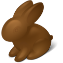 rabbit, Chokolate, easter SaddleBrown icon