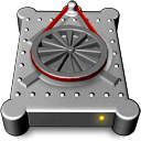 External, Hd DarkGray icon
