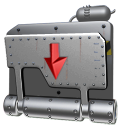 drop, Box Gray icon