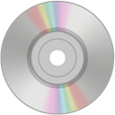 Dvd DarkGray icon