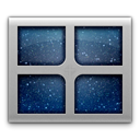 space, desk Black icon