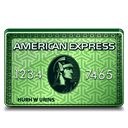 express, platinum, american Black icon