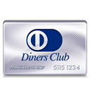 Club, diners Black icon