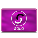solo DarkMagenta icon