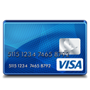 standard, visa Black icon