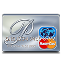 platinum, mastercard Black icon