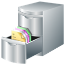 document, leads, storage DarkGray icon