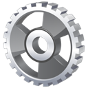 Gear DimGray icon