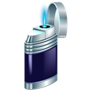 lighter, Ignite Black icon