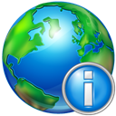 world, Info DodgerBlue icon