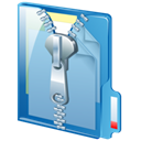 Zip SkyBlue icon