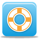 Float, Design DodgerBlue icon