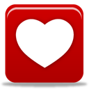 Heart DarkRed icon