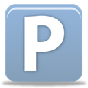 Pingfm DarkGray icon