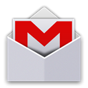 r, gmail, Android LightGray icon