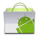 paper bag, App, market, Android, Basket OliveDrab icon