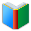 r, Android, Books ForestGreen icon