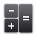 r, calculator, Android DarkSlateGray icon