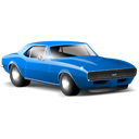 Camaro, sports car, Car Black icon