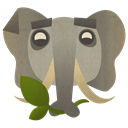 Evernote, 256 Gray icon
