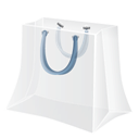 shopping bag Gainsboro icon