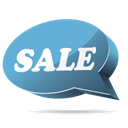 sale Black icon