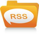Folder, Rss Goldenrod icon