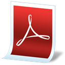 Pdf, Junior Firebrick icon
