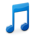 music, Library, itunes Black icon