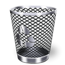 Bin, recycle, Garbage, Trash Icon