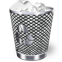 Bin, Full, recycle Black icon