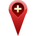 pin, Add, location Icon