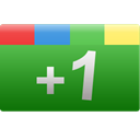 plus, green, One, Rectangle, google, +1, Google+ ForestGreen icon