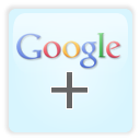 Google+, google plus LightCyan icon