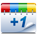 plus one, google plus, +1, Google+ LightSteelBlue icon