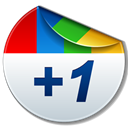 google plus, +1, plus one, Google+ Black icon