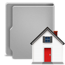 Home DarkGray icon
