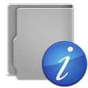 Information DarkGray icon