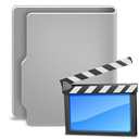 Movies DarkGray icon