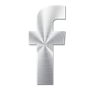Facebook, 02 Black icon