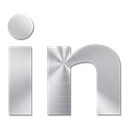 02, Linkedin Black icon