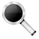 Magnifier Black icon